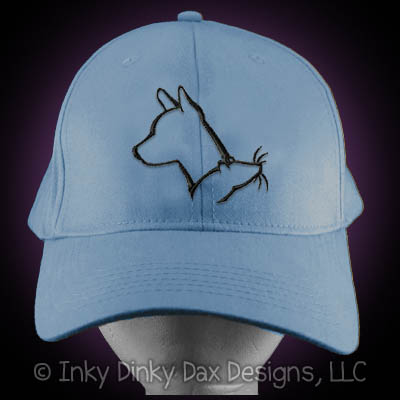 Basenji Barn Hunt Hat