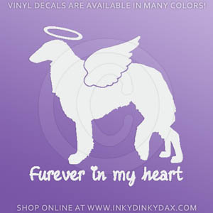 Angel Borzoi Decals