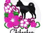 Pretty Chihuahua Embroidery