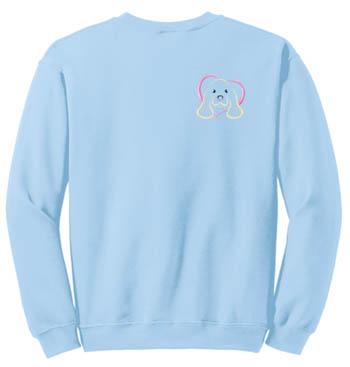 Embroidered Cocker Spaniel Sweatshirt