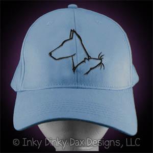 Doberman Barn Hunt Hat