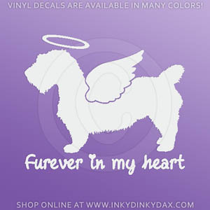 Angel Glen of Imaal Terrier Decal