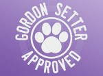 Gordon Setter Approved Decals