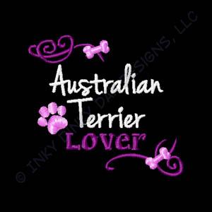 Australian Terrier Embroidery