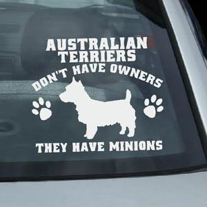 Funny Australian Terrier Stickers
