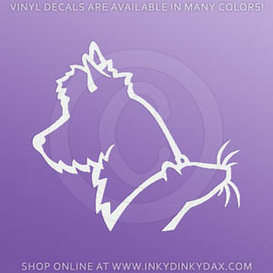 Australian Terrier Ratting Decals