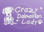 Crazy Dalmatian Lady Decals