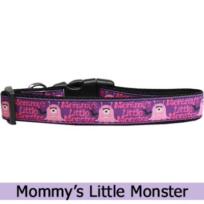 Mommy's Little Monster Dog Collar