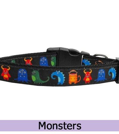 Monsters Dog Collar