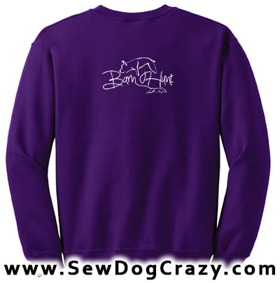 Pretty Barn Hunt Sweatshirts