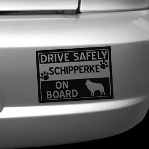 Schipperke On Board Decal