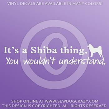It's a Shiba Thing Sticker