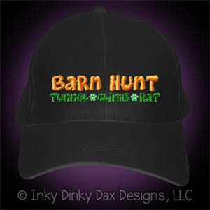 Embroidered Barn Hunt Hat