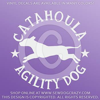 Catahoula Agility Decals