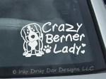 Crazy Berner Lady Decals