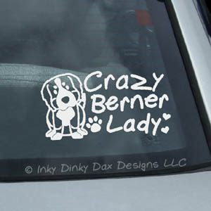 Crazy Berner Lady Decals