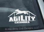 Catahoula Agility Stickers