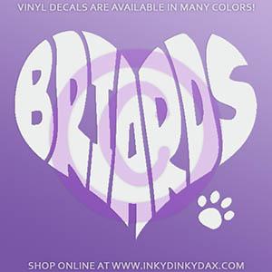 Love Briards Sticker