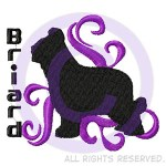 Briard Embroidery
