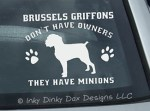 Funny Brussels Griffon Decals