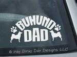 Buhund Dad Decal