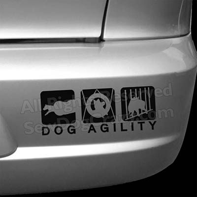 Dog Agility Bumper Stickers