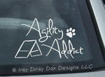 Agility Addict Decal