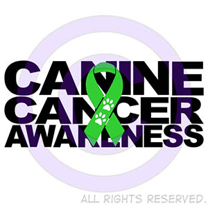 Canine Cancer Awareness Shirts