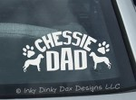 Chessie Dad Decal
