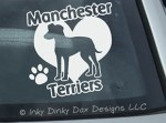 Manchester Terrier Sticker