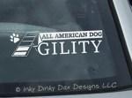 All American Dog Agility Decals