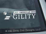All American Dog Agility Decals