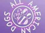 All American Dog Sticker