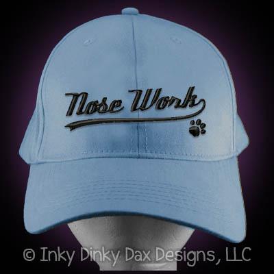 Baseball Nose Work Hat