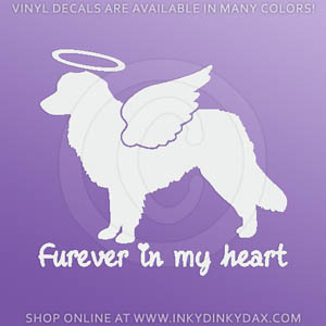 Angel Toller Car Window Stickers