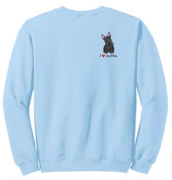 Embroidered Scottie Sweatshirt