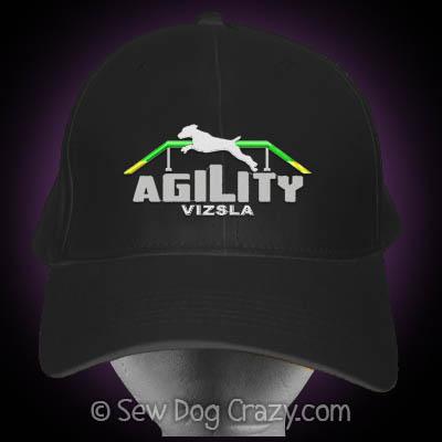 Embroidered Vizsla Agility Hat