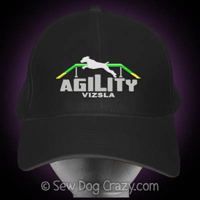 Embroidered Vizsla Agility Hat