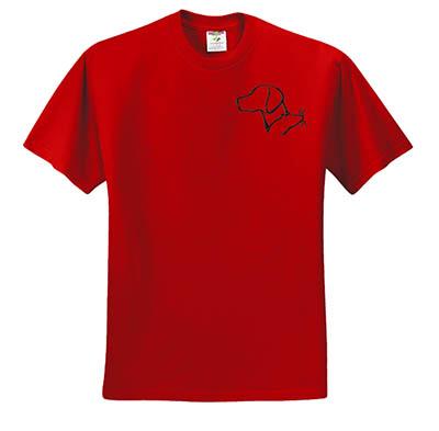 Vizsla Barn Hunt Tshirt