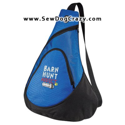 Embroidered Barn Hunt Bag