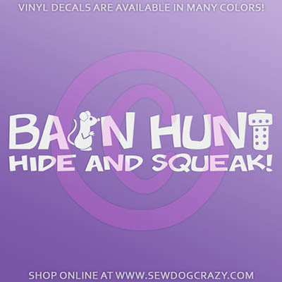 Barn Hunt car stickers