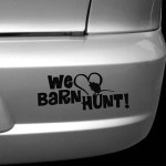 We Love Barn Hunt Stickers