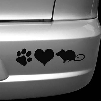 Barn Hunt Car Sticker