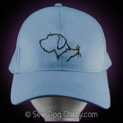 German Wirehaired Pointer Barn Hunt Hat