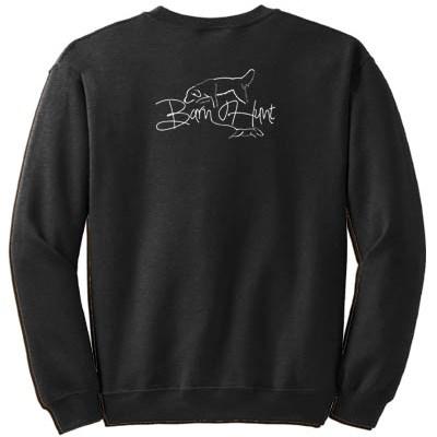 Golden Retriever Barn Hunt Sweatshirt