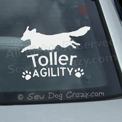 Toller Agility Decals