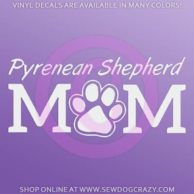 Pyrenean Shepherd Mom Decals