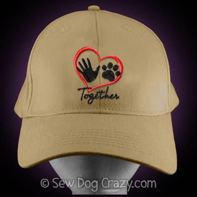 Embroidered Dog Lover Hat