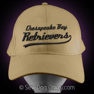 Embroidered Chesapeake Bay Retriever Hat