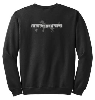 Embroidered Chesapeake Bay Retriever Sweatshirt